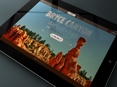 Canyon Country App Renders