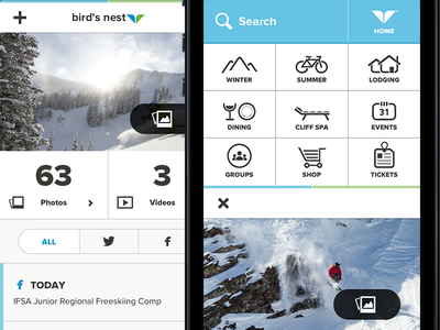 Snowbird mobile site has Launched!