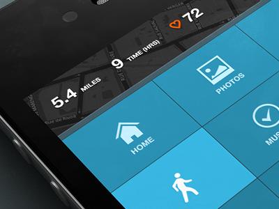Menu Crop rally interactive mobile app design interface ui ux