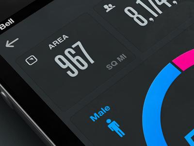 Data rally interactive interface mobile app design ui ux