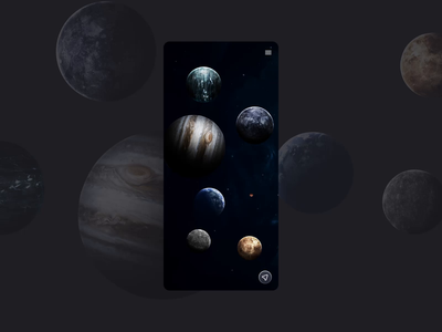 UBER Space | Animated Сoncept Part 2 spacedchallenge dailyuichallenge dailyui cosmos taxi technology minimal glitch space motion mobile ui mobile app figma concept appservice animation animated gif web design design ui