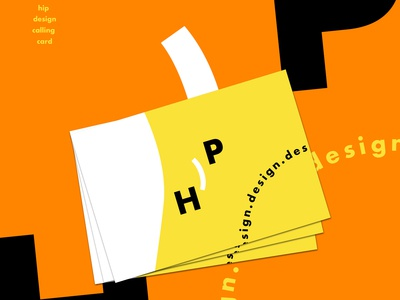 Hip Design Business Card
