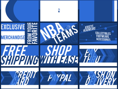 NBA STORE PROMOTION STORY BOARD