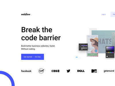 Webflow Hero Section web website design herosection ui design ui web design webflow