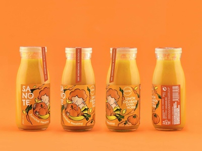 Sanote Healthy Juice - Orange