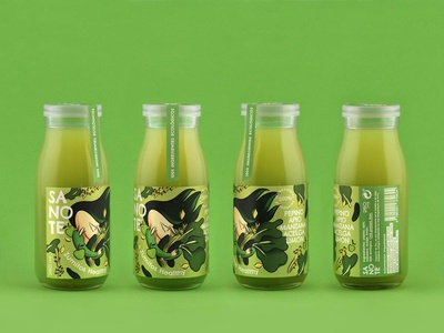 Sanote Healthy Juice - Green