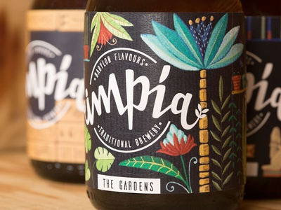 Impía Craft Beer - Label Design