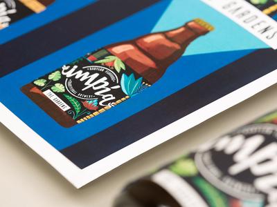 Impía Craft Beer - Illustrations