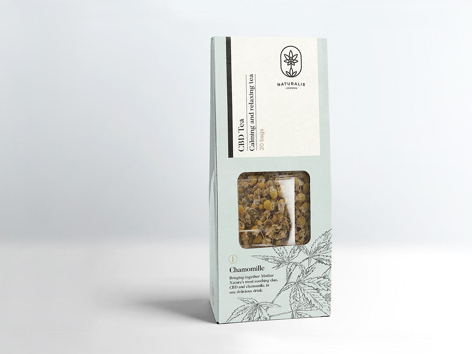 CBD Tea Packaging by Botánico Estudio on Dribbble