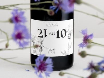 Alzania 21 del 10 Wine Packaging Design