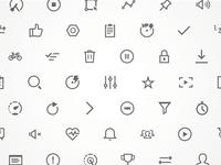 TrainerRoad Icon Set