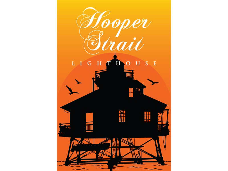 Hooper Straight Lighthouse lighthouse illustration minimal flat adobe illustrator