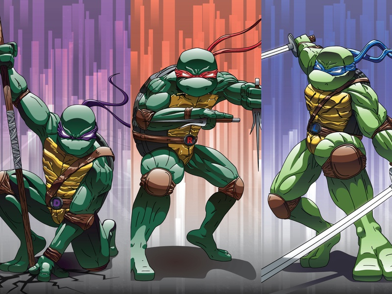 Teenage Mutant Ninja Turtles adobe illustrator comic cartoon anime stylized illustration comic art comic con fanart teenage mutant ninja turtles tmnt