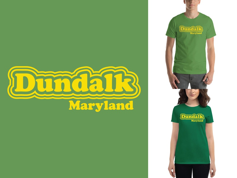 Dundalk 70's Style Design tshirt design shirt design apparel design maryland dundalk 70sdesign 70s