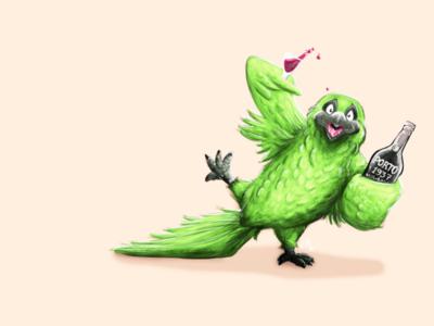 Tipsy Parrot