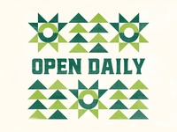 Open Daily