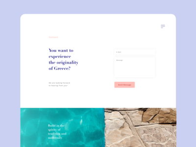 Kalithea website contact form
