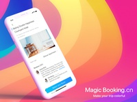 Magic Booking-Hotel reservation APP