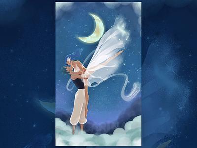 Moon Lover illustration