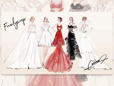 Wedding dress design design wedding