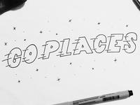 Go Places Doodle
