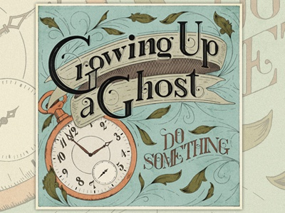 Growing Up a Ghost Album Art