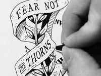 Fear Not... sketch in progress
