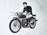 Motorcycle Gig Poster