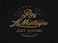 Ray Lamontagne 'Just Passing Through' Branding