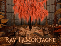 Ray Lamontagne - Just Passing Through Poster