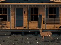 Midsummer Night Porch