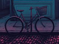 Bicycle Poster Detail
