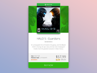 Xbox One Halo Game Card