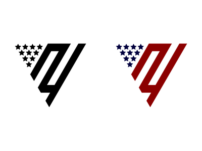 New York Tattoo mark logo brand stripes stars typography flag geometry shapes minimal tattoo new york