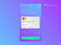#dailyUI 002 Credit Card Checkout