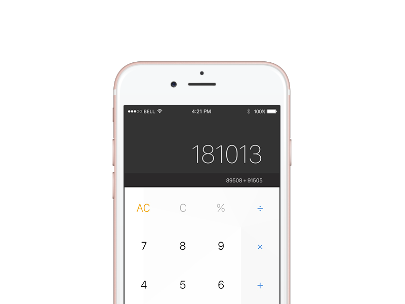 Dailyui004 calculator 800x600