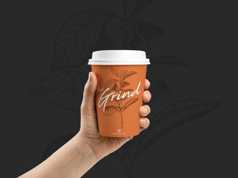 #ThirtyLogos - 002 - Space challenge identity coffee brand branding logos thirtylogos
