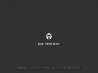 Star Wars: Episode VI - Endor Bike Trooper
