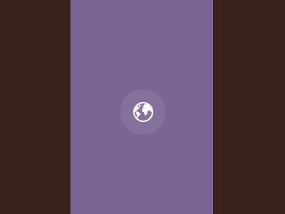 Earth Globe Animation [CSS] css animation earth spiral rebound