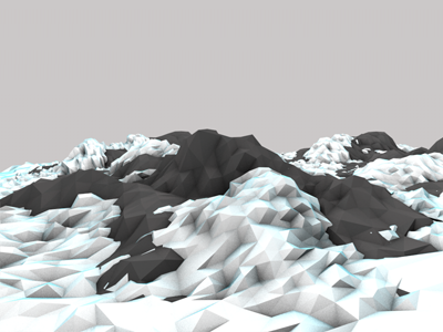 Rocks and Snow lowpoly poly cinema4d c4d snow winter mountain rocks