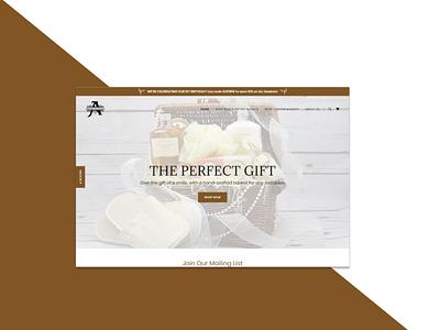 Ecommerce Landing Page shopping ecommerce design ecommerce photography logo typography web ui minimal figma design