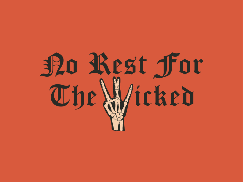 NO REST FOR THE WICKED 01