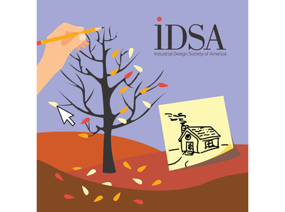 Sticker for IDSA Competition