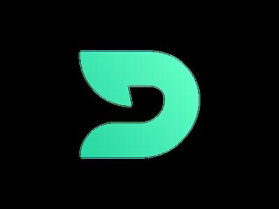Debuff Logo ui vector badge design branding esports esports logo illustration debuff debuff logo green logo logo d d logo logo design