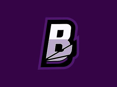 Broken B Logo b logo badge esportslogo logo broken logo broken illustration esports logo esports design branding