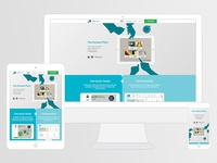 Salesboard responsive website