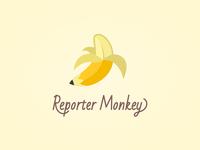 Reporter Monkey Logo