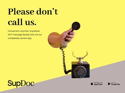 SupDoc design graphic app design human healthcare telemedicine app typography poster typography supdoc