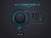 Music Player Ui Kit Freebie (for Sketch)