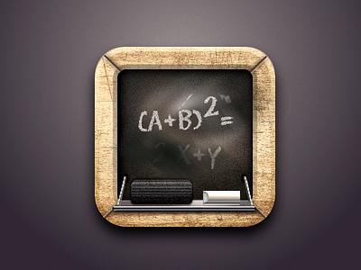 Blackboard Icon created with Sketch blackboard icon sketch chalk